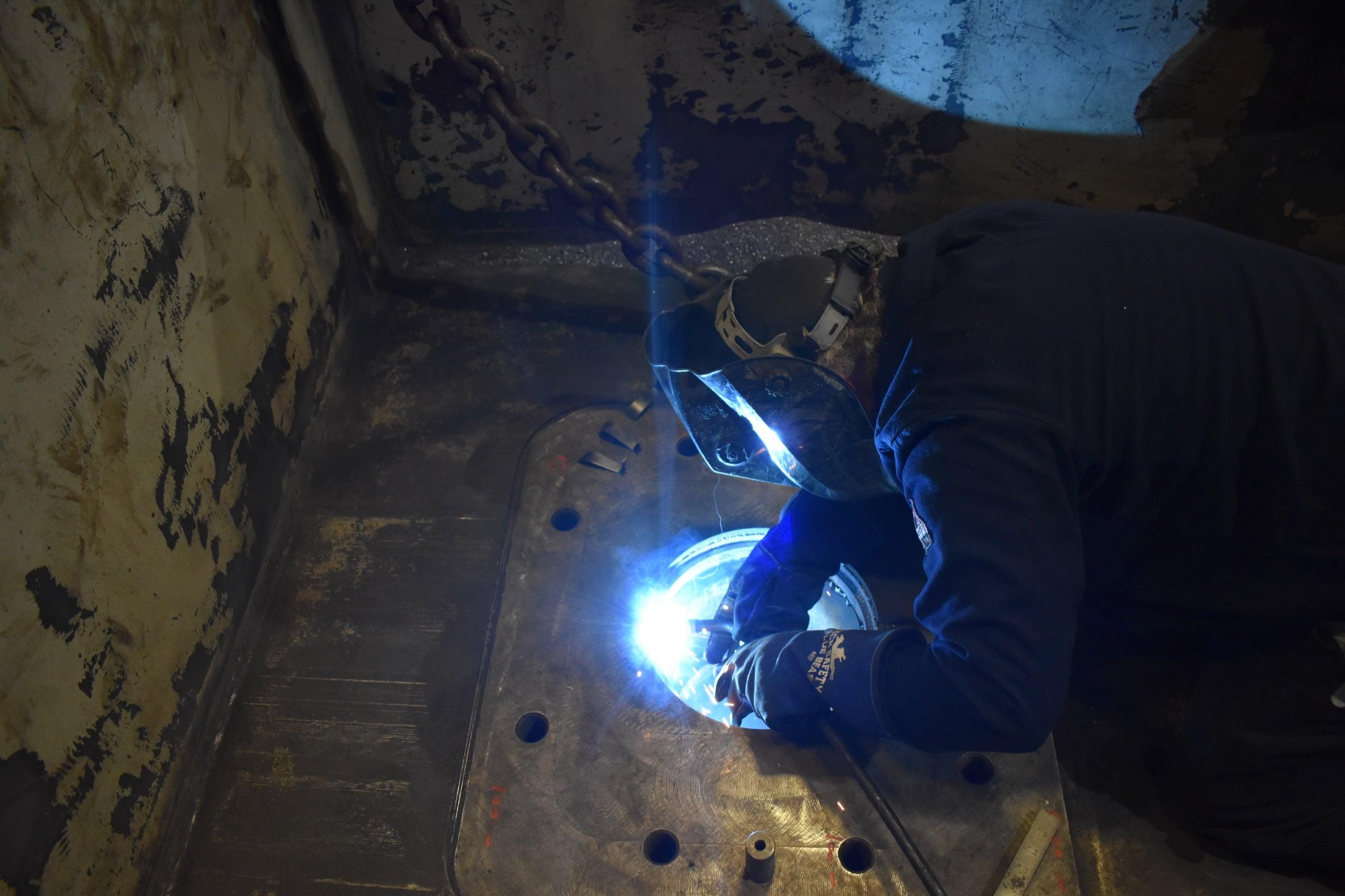 welding pots